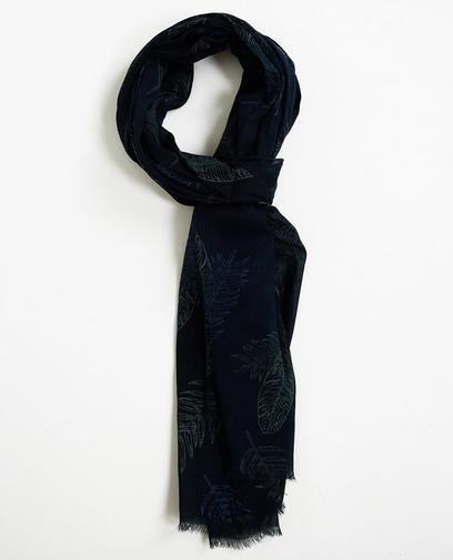 Nachtblauer Schal